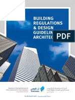 Building Regulation Architecture Book Dubai