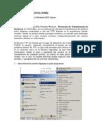 Como Instalar El FTP en Windows 2003 Server