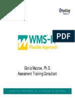 WMS IV Handout