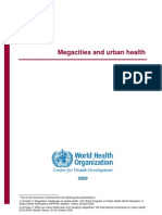 Mega Cities and Urban Health
