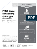e2i Job Listing Booklet - Career Networking Session Launch of PMET Resource Centre @ Punggol
