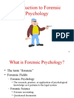 Intro to Forensic Psychology