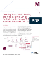 Counting Yeast Cells Wine Application Note