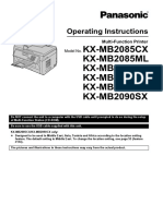 KX-MB2090 Manual (en) Man 01