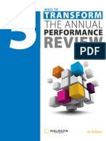 5 Tranform The Annual Performance Review