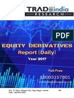 Derivative Daily Report for 11 Apr 2017 by TradeIndia Research