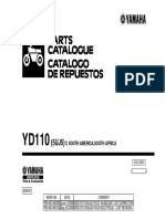 YD110 - CRUX - 2004 -  (5UJ5) Manual parts