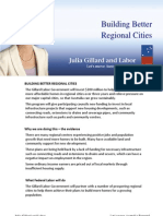 Building Better Regional Cities - Fact Sheet