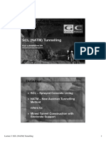 SCL (NATM) Tunnelling