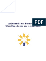 Carbon Emissions From Schools