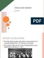 socio1 proejct2 education and money