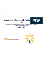 Towards a Schools Carbon Management Plan