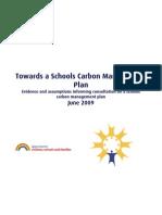 Towards a Schools Carbon Management Plan