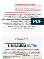 Similimum Ultra-  Homeopathic Software - Screenshots