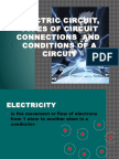 Electric Circuit, Connections, Conditions