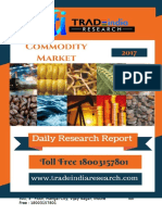 Commodity Daily Research Report 11-04-2017 by TradeIndia Research