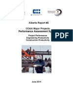 COP-BEN-RES-02-2015-V1 Alberta Report 2 COAA Major Projects Performance Assessment System