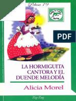 La Hormiguita Cantora y El Duende Melodia - Alicia Morel.pdf