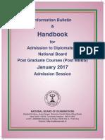 DNB Handbook January 2017
