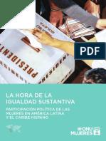 LIBRO 2015. ONU IGUALDAD SUSTANTIVA. MUJERES EN LOS PARLAMENTOS AMERICA LATINA.pdf
