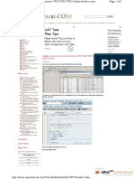 Adding Customer Fields TAB in VF01 VF02 Pag 1