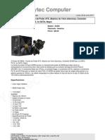A-Power AK 850W - Fuente de Poder ATX, Abanico de 14cm silencioso, Conexión
