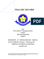 Opthalmic Record