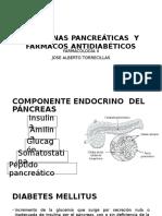 Hormonas Pancreáticas y Fármacos Antidiabéticos