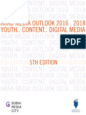 Arab Media Outlook 2016-2018-Eng (1) | Dubai | Advertising