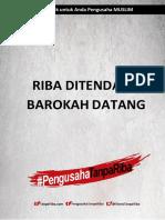 Free eBook Riba Ditendang Barokah Datang