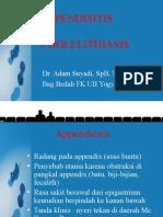 Appendisitis-cholelithiasis Dr Adam