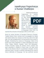 Dr Ashoke Chatterjee