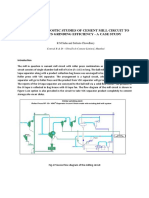 Studies of Cement Mill Circuit