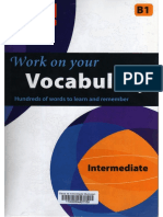 Work on Your Vocabulary - Level B1