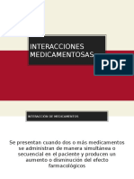 interaccion medicamentosa