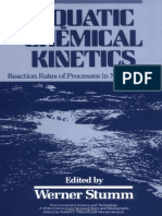 Aquatic Chemical Kinetics Reaction