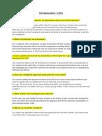 Tax Declaration -FAQ 2017 (003)