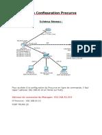 fiche configuration switch  procurve