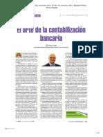 El arte de la contabilizacion bancaria
