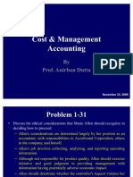 52172153 Cost Management Accounting