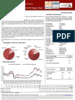 Al Mal UAE Equity Fund Fact Sheet - Feb 2016
