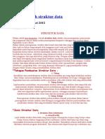 1-Materi Kuliah Struktur Data