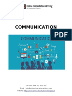 Sample on Communication