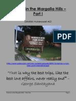 Tourism in the Margalla Hills - Part I