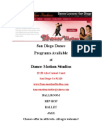 San Diego Dance Lessons