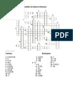Cruzadinha de números romanos.doc