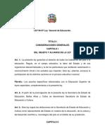Ley General de Educacion.66-97
