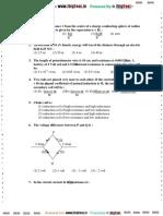 Physics Model Paper 4