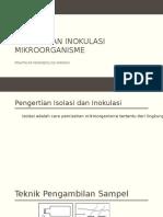 Isolasi Dan Inokulasi Mikroorganisme