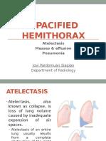 Opaficied Hemithorax